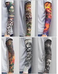 спорт рука рукава защита от солнца нейлон рукав татуировки открытый баскетбол