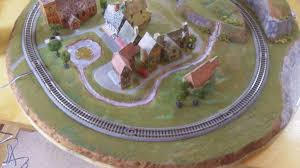 picture of n scale railroad layout small easy
