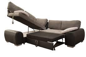 corner sofa bed. Enzo Corner Sofa Bed Fabric - Left Handed O