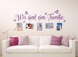 Wandtattoo Spruch Wir Sind Eine Familie Bilderrahmen W5077