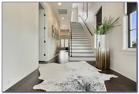 white cowhide rug uk