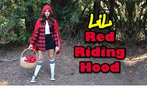 diy easy costume chola little red riding hood lucykiins you