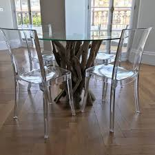round kitchen table. Small Driftwood Round Dining Table To Seat Four Kitchen 0