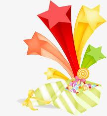Anniversary Ribbon Candy Box Illustration Anniversary Ribbon Star Png Image And