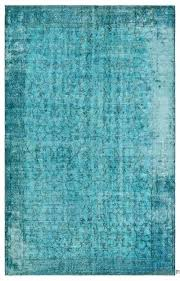 over dyed rug turquoise vintage x 8 rugs australia over dyed rug