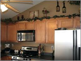 decorating above kitchen cabinets. Decorating Above Kitchen Cabinets Cabinet Decoration With Worthy  Decorations Interesting Ideas For N