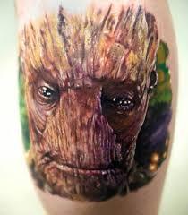 стражи галактики в тату фантастика от Marvel онлайн журнал о тату