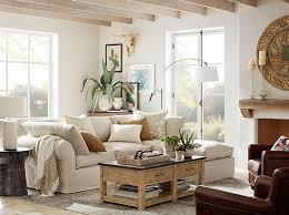... Pottery Barn Living Room Classy