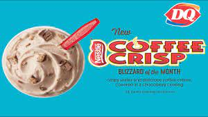 In fact, i usually dislike blizzards with fudge but i absolutely love this one. Dq Coffee Crisp Blizzard Review Youtube