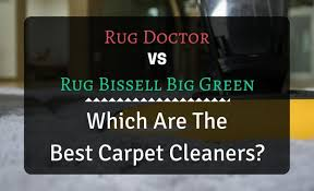 rug doctor deep carpet cleaner vs bis big green which are the best carpet cleaners