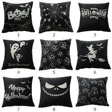 <b>Halloween</b> Decorative <b>Luminous</b> Throw Pillow <b>Case</b> Pumpkin Ghost ...