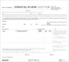 Bill Of Lading Free Form Bill Of Lading Form Free Template Pics Medium Ocean