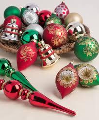 Christmas Ornament Sets For Tree  Christmas Lights DecorationChristmas Ornament Sets