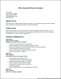 Example Simple Resume Sample Easy Resumes Templates Resume ...