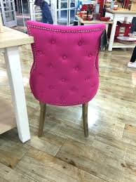 this is my chair but mine are a pale blue i bought 2 and hot pink dining room set pink fabric dining room chairs pink upholstered dining room chairs