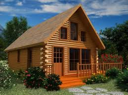image of simple small house plans log