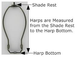 How To Measure Lamp Shade New The Common Harp How to Measure it Correctly and Choose Just the