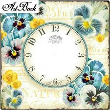 Pin on <b>Wall Clock</b> Diamond Painting