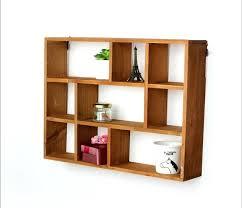 wooden wall hollow wooden wall shelf storage holders and racks desktop shelves wall mounted type kitchen wooden wall