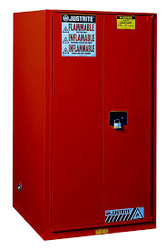 sure grip ex flammable safety cabinet 60 gallon 2 manual close doors red