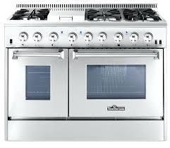 best double oven gas range. Best Dual Oven Range Electric Fuel Cookers 100cm Cream Double Gas
