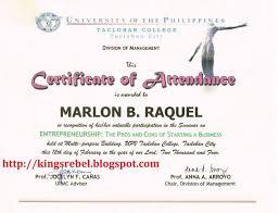 Samples Certificate Sample Certificate Of Appreciation For The Speaker Of Seminar Save 21