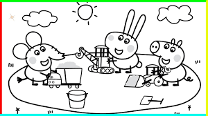 Small Picture Peppa Pig Coloring Pages To Print Archives Within Peppa Pig