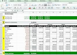 How To Make An Excel Spreadsheet For Budget Excel Budget Spreadsheet Template Expense Forecast Template Excel