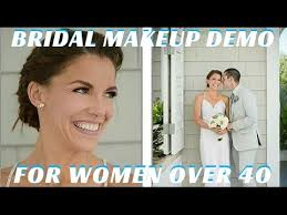 clic wedding makeup tutorial for women over 40 step by step mathias4makeup you