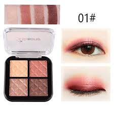 Amazon Com Makeup Palette Four Color Eyeshadow Mute