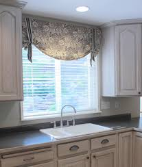 Decorating Kitchen Windows Swag Curtains For Kitchen Windows Curtain Decor