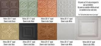 Tin Ceiling Tiles For Backsplash Exterior Cool Ideas