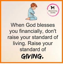 God Bless Quotes Simple Mesmerizing Quotes When God Blesses You Financially Don't Raise Your