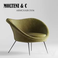 armchair d154 by molteni c