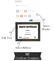 Award Templates Free Printable And Customizable Certificate Templates 5