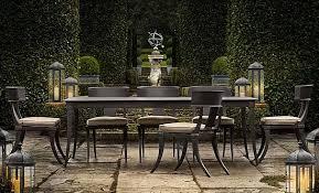 restoration hardware outdoor furniture. Elegant Restoration Hardware Outdoor Dining Table Patio Furniture Home