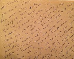 three ways to encourage student writers to take more risks david shared this note from a former student that has grown up to be a college instructor and lance writer