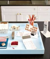 Real simple office supplies Computer Desk Homeofficerealsimple Momtrends Spring Cleaning And Organizing The Home Office Momtrends
