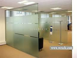 frosted glass wall partitions china sheets of toughened modular glass wall partitions for offices