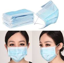 Decorative Surgical Masks VMD 60pcs Disposable Face Masks Elastic Earloop Type Mask and 44