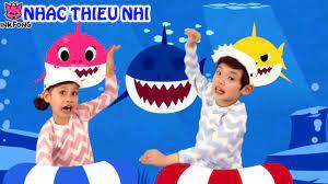 Nhạc thiếu nhi tiếng anh 2019 em bé cá mập - YouTube