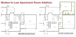 spacious house plans with detached mother in law apartment suite lovely garage