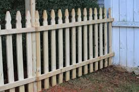 Installing Wood Picket Fence Panels
