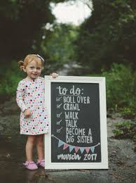 Sibling Birth Announcement Hey Baby Blaire Is Going To Be A Big Sis Best Of Happily Trista