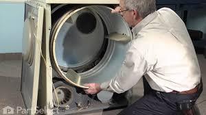 dryer repair replacing the tumbler motor belt whirlpool part dryer repair replacing the tumbler motor belt whirlpool part y312959
