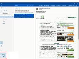 set up centurylink email in windows