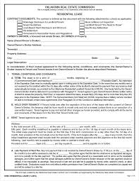 Being a good property owner means being aware of the needs of your tenants and responding to their problems or concerns quickly. Free Oklahoma Rental Lease Agreement Templates Pdf Word