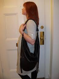 linea pelle vanessa large hobo finge handbag review