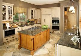 Photo Tour   Donald A  Gardner Architects  Inc  The Hollowcrest    The gourmet kitchen features not one  but two spacious islands  A large pantry is located nearby