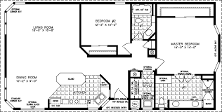 manufactured home floor plan the tnr model tnr 5521b 2 bedrooms
